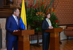 ..  .. (  / MFA Russia) Tags: colombia juan santos manuel mara ngela sergeylavrov lavrov holgun cullar