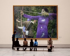 Archery-PhotoFunia (Frizztext) Tags: woman afghanistan sports japan museum blog focus wordpress politics bow wikipedia archery kyudo twitter womensliberation frizztext museumseries kyd napix photofunia