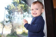 Window mucker (KaseyEriksen) Tags: boy window smile children mess child messy wyatt