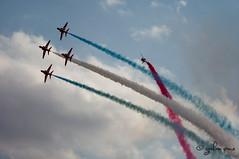 Malta airshow 2014_Royal Air Force_Red Arrows_British Aerospace Hawk T1A__6 (grahampace) Tags: malta redarrows sigmalens rafredarrows airshow2014