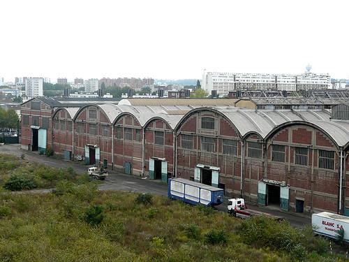 Le site Babcock bénéficie d'une excellente localisation à deux pas de la capitale © Plaine Commune