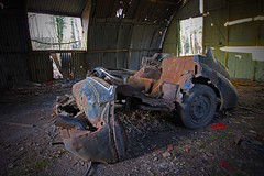 Barn find. (foto.pro) Tags: car wheel barn mod rust wreck find corrosion