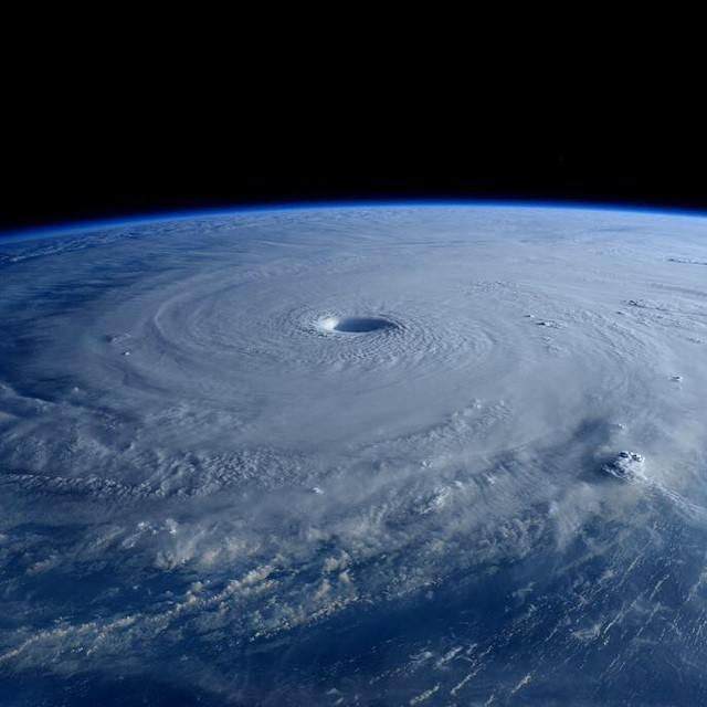 AstroTerry: The eye of #Maysak #typhoon really stands out early in the morning with the shadow being cast deep into the #vortex http://t.co/SodkijMt7O Follow #Terry in #Twitter @astroterry