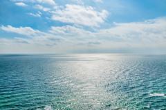 Midday View 16 (Melody Migas) Tags: blue sea sky seascape gulfofmexico water clouds gulf alabama coastal orangebeach pw2 melodymigas phoenixwest2
