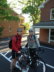 Andrew and Rob for Ride Your Bike To Work Day