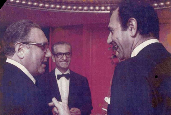 62 Henry Kissinger Secretary of State, Shah of Iran and Ambassador Ardeshir Zahedi 1973