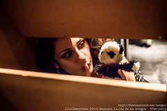 Mona-Lisa and Expandalonga, Brussels, La Cita de Los Amigos, Dec. 2014