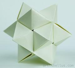 Burr Puzzle (smarcelab) Tags: star origami decoration puzzle modular burr marcelabrina artisbellus