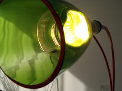 Big bottles result in big lamp