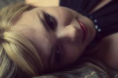 Léa. (Nicolas Fourny photographie) Tags: portrait paris cute sexy canon studio 50mm model gorgeous portraiture blonde beautifuleyes blondegirl girlportrait 600d beautifulface womanportrait maison122