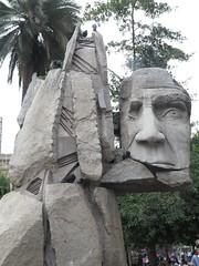 """vision de l'artiste pour représenter les mapuche <a style=""""margin-left:10px; font-size:0.8em;"""" href=""""http://www.flickr.com/photos/83080376@N03/17074012368/"""" target=""""_blank"""">@flickr</a>"""