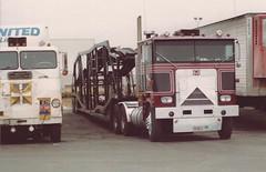 Flynn Mtrs Marmon COE (PAcarhauler) Tags: tractor truck semi trailer carcarrier marmon