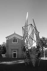 Monumenti precari (Luca Zanta) Tags: chapel bamboo arena monumenti precari romana giardini padova cappella giotto scrovegni struttura installazione
