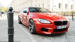 BMW M6 F13 (koza128) Tags: orange cars car map poland polska spot german bmw warsaw spotted m6 supercar spotting warszawa supercars mpower carspotting f13