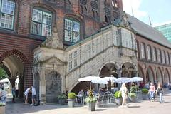 Ratusz (magro_kr) Tags: lubeka lbeck lubeck luebeck niemcy germany deutschland szlezwikholsztyn holsztyn schleswigholstein holstein ratusz budynek architektura townhall building architecture