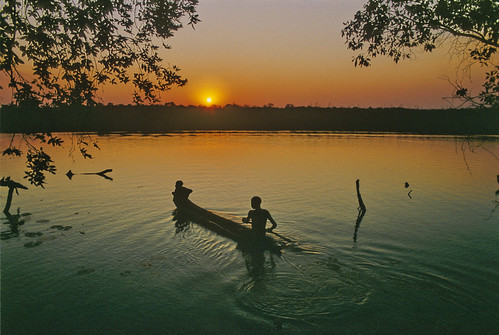 Okovango Sunset