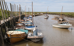 Blakeney 1 (D G Butcher) Tags: boats norfolk moorings blakeney
