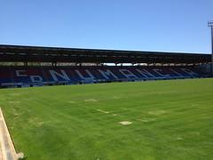 Numancia - Estadi de los Pajaritos - Soria (montse & ferran travelers) Tags: estadio soria castilla pajaritos numancia estadi