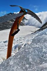 Petzl Summit Evo, Griesgletscher - Wallis - Schweiz (Felina Photography - in NL, preparing for Austria) Tags: picozza pickel petzlsummitevo iceaxe ijsbijl mountaineering alpinism alpinismo alpinisme equipment