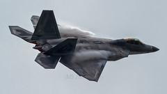 "USAF ""RAPTOR"" (mattyste92) Tags: usaf raptor f22 airshow aircraft airport aviation avgeek avation display fly flight flying"