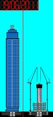 Vauxhall Tower - West elevation progress diagram (19.6.2011) (The Shard Baby 2006-2016) Tags: construction concrete cranes architecture microsoftpaint theshardbaby tsbdiagrams tallest tower vauxhall elevation development residential skyscraper slipform buildings building underconstruction diagram