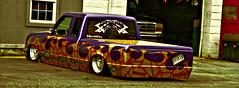 """EFFIN LO"" (creepingvinesimages - struggling to keep up!) Tags: colors truck outdoors virginia nikon sigma pickup customized custom louisa lowered topaz htt 18250 restyle centralvirginia d7000 pse14"