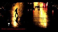 Time To Go (brosigonzales) Tags: nightphotography cityscape silhouettes streetphoto refelections waterandlight lowlowlightphotogrphy