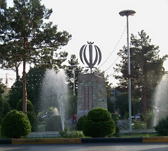 Beheshti Sq 1 (Sasha India) Tags: iran irn yezd yazd
