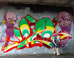 EDSeres (SRCARAMELOS) Tags: street new red streetart newyork colors inca skull spain friend colours respect character free colores fresh spray crew cans sez minty cyrus eds creatures sick candyman caramelos cain 2016 ironlak letterism srcaramelos instagraffiti 2k16