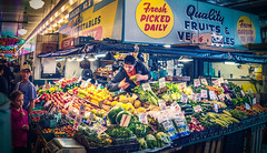 Getting Started - Seattle, Washington (, ) (dlau Photography) Tags: getting started seattle washington  arrive   pikeplacemarket     famous public market       vendors    travel tourist vacation visitor people lifestyle life style sightseeing   trip   local   city  urban scenery   weather