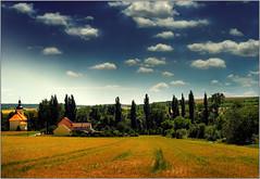 TOPOLANY in region HANA (piontrhouseselski) Tags: church folk hana cz moravia oldlens