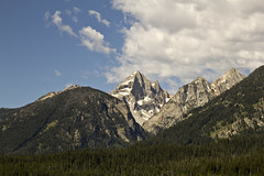 Grand Teton from below (nicoangleys) Tags: tetons grandtetonsnp nationalpark wyoming jacksonhole schwabacherslanding