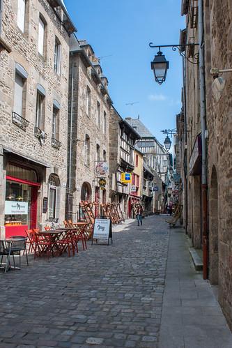 Rue de la Cordonnerie à Dinan