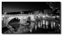 Ponte Sisto bridge rome (All types of Photography by CJC) Tags: bridge rome ponte sisto
