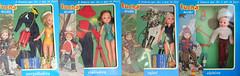 tuchas Accao (vintage.dolls) Tags: new vintage toys dolls box safari 70s collectible nib portuguese mergulhadora alpinista tuchas aco esquiadora brintoi