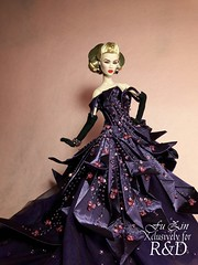 Purple Reign (Fu Zin) Tags: mirage ayumi fashionroyalty itbe fuzin ooakdior