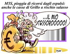 Alti Valori Grillini (Moise-Creativo Galattico) Tags: vignette satira attualit moise giornalismo grillo soldi editoriali moiseditoriali editorialiafumetti
