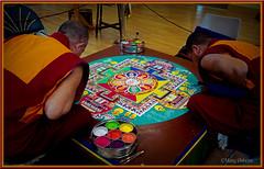 Traditional Mandala (30/52) (Missy2004) Tags: nikkorafs18105mm3556ged 116picturesin2016 46116 traditional tibetanmonks buddist mandala lyndhurst newforest explored