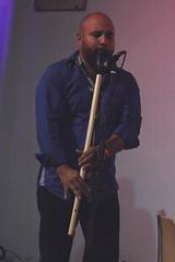 Latin Wood Quartet (2016) 16 - Rafael Ayala (guest) (KM's Live Music shots) Tags: worldmusic colombia latinwoodquartet rafaelayala gaitahembra gaitacolombiana flute listentotheworld stethelburga's