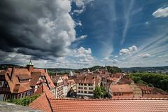 Tbingen (drdowntown33) Tags: tbingen germany deutschland stiftskirche clouds wolken