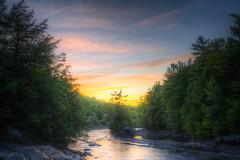 """""""Secret"""" Island """"Fort"""" (Decaseconds) Tags: hdr raquette stonevalley summer sunset water rapids colton newyork northcountry nature river island"""