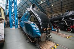 Worlds Fastest Duck (Nick Gagliardi) Tags: trains railway york great britain gb united kingdom uk national museum nrm lner london northeastern sir nigel gresley a4 pacific mallard