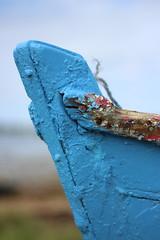 Proue (Eric Vinyals) Tags: coque bleu bois bateau