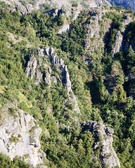 Mountainous area at the border of Bosnia and Montenegro (georgemoga) Tags: bosnia montenegro mountain rocks tree klobuk republikasrpska bosniaandherzegovina ba