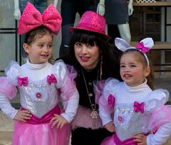 Mother & daughters (Poupetta) Tags: jerusalem purim