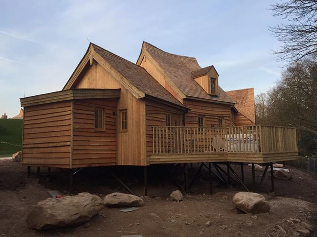 22/03/2015 - The back of the forth treehouse.