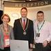 Showtel Romana Valjavec & Dejan Cusic, Cometrade Voyego and Stephen McNally, IHF President