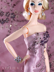 Defrosting OOAK Dress (marcelojacob) Tags: vanessa fashion spain doll dress lace embroidery sewing jacob barbie silk espana edge mikado marcelo couture perrin beading royalty roux vestido victoire bemused costura fr2 silkstone frmonogram