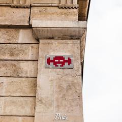 Space Invader, Paris, France (Stewart Leiwakabessy) Tags: road street city people streetart paris france bus art europe ledefrance boulevard metro pierre mosaic space mtro spaceinvader citylife tiles invader hdr jardinduluxembourg avenu 6tharrondissement hausmannien vlib 6ime