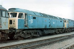Brush Sulzer 47 096 at Tinsley Open Day on 27-04-96 (Fred Castor) Tags: brush class 47 sulzer tinsley class47